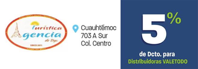 DG24_VAR_AGENCIA_TURISTICA_DURANGO_DCTO